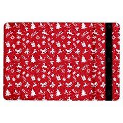 Red Christmas Pattern Ipad Air Flip by patternstudio
