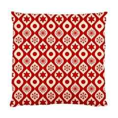 Ornate Christmas Decor Pattern Standard Cushion Case (two Sides) by patternstudio