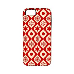 Ornate Christmas Decor Pattern Apple Iphone 5 Classic Hardshell Case (pc+silicone) by patternstudio