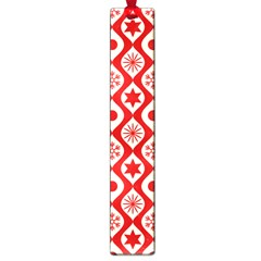 Ornate Christmas Decor Pattern Large Book Marks by patternstudio