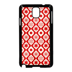 Ornate Christmas Decor Pattern Samsung Galaxy Note 3 Neo Hardshell Case (black) by patternstudio