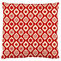 Ornate Christmas Decor Pattern Standard Flano Cushion Case (two Sides) by patternstudio