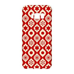 Ornate Christmas Decor Pattern Samsung Galaxy S8 Hardshell Case  by patternstudio