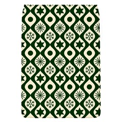 Green Ornate Christmas Pattern Flap Covers (s)  by patternstudio
