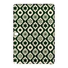 Green Ornate Christmas Pattern Samsung Galaxy Tab Pro 10 1 Hardshell Case by patternstudio