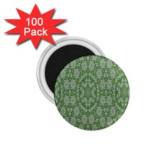 Art Pattern Design Holiday Color 1 75  Magnets (100 Pack)  by Celenk