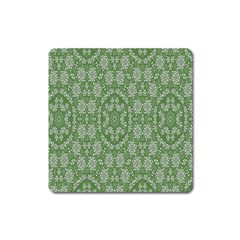 Art Pattern Design Holiday Color Square Magnet by Celenk