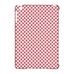 Sexy Red And White Polka Dot Apple Ipad Mini Hardshell Case (compatible With Smart Cover) by PodArtist
