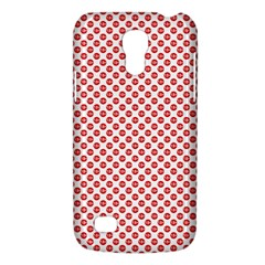 Sexy Red And White Polka Dot Galaxy S4 Mini by PodArtist