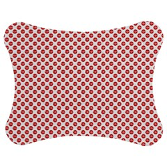 Sexy Red And White Polka Dot Jigsaw Puzzle Photo Stand (bow) by PodArtist