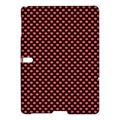 Sexy Red And Black Polka Dot Samsung Galaxy Tab S (10 5 ) Hardshell Case  by PodArtist