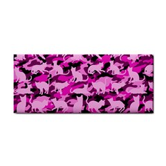 Hot Pink Catmouflage Camouflage Cosmetic Storage Cases by PodArtist