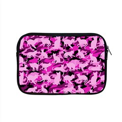 Hot Pink Catmouflage Camouflage Apple Macbook Pro 15  Zipper Case by PodArtist