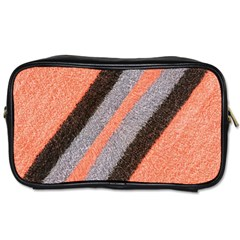 Fabric Textile Texture Surface Toiletries Bags 2 Side by Celenk