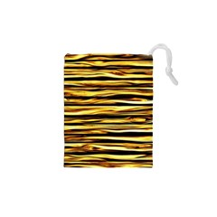 Texture Wood Wood Texture Wooden Drawstring Pouches (xs)  by Celenk