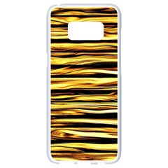 Texture Wood Wood Texture Wooden Samsung Galaxy S8 White Seamless Case by Celenk