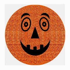 Fabric Halloween Pumpkin Funny Medium Glasses Cloth by Celenk