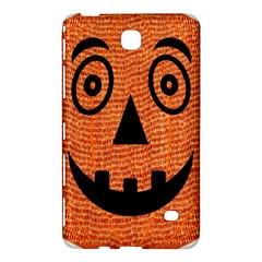 Fabric Halloween Pumpkin Funny Samsung Galaxy Tab 4 (7 ) Hardshell Case  by Celenk