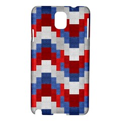 Texture Textile Surface Fabric Samsung Galaxy Note 3 N9005 Hardshell Case by Celenk