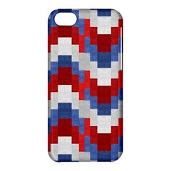 Texture Textile Surface Fabric Apple Iphone 5c Hardshell Case by Celenk