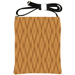 Wood Background Backdrop Plank Shoulder Sling Bags by Celenk