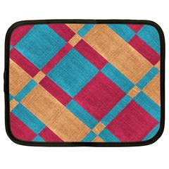 Fabric Textile Cloth Material Netbook Case (xl)  by Celenk