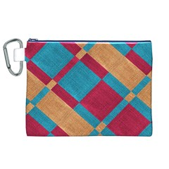 Fabric Textile Cloth Material Canvas Cosmetic Bag (xl) by Celenk
