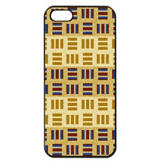 Textile Texture Fabric Material Apple Iphone 5 Seamless Case (black) by Celenk