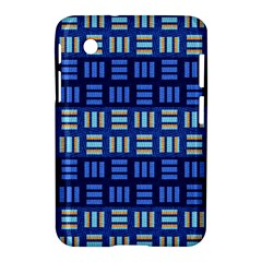 Textiles Texture Structure Grid Samsung Galaxy Tab 2 (7 ) P3100 Hardshell Case  by Celenk