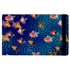 Fish Swim In The Ocean Apple Ipad Pro 12 9   Flip Case by Cveti