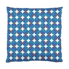 Geometric Dots Pattern Rainbow Standard Cushion Case (two Sides) by Celenk