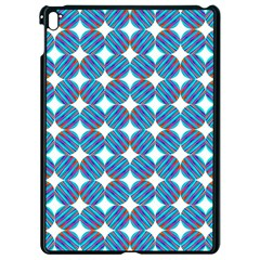Geometric Dots Pattern Rainbow Apple Ipad Pro 9 7   Black Seamless Case