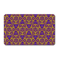 Sacred Geometry Hand Drawing 2 Magnet (rectangular) by Cveti