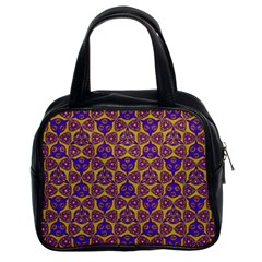 Sacred Geometry Hand Drawing 2 Classic Handbags (2 Sides) by Cveti