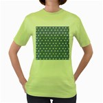 xmas0050 Women s Green T-Shirt