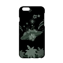 Surfboard With Dolphin, Flowers, Palm And Turtle Apple Iphone 6/6s Hardshell Case by FantasyWorld7