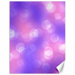 Soft Lights Bokeh 1 Canvas 12  X 16   by MoreColorsinLife