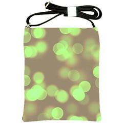 Soft Lights Bokeh 4c Shoulder Sling Bags by MoreColorsinLife