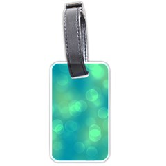 Soft Lights Bokeh 1b Luggage Tags (one Side)  by MoreColorsinLife