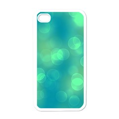 Soft Lights Bokeh 1b Apple Iphone 4 Case (white) by MoreColorsinLife