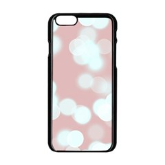 Soft Lights Bokeh 5 Apple Iphone 6/6s Black Enamel Case by MoreColorsinLife