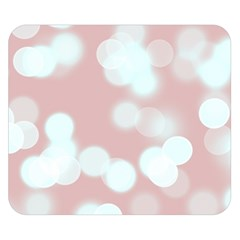 Soft Lights Bokeh 5 Double Sided Flano Blanket (small)  by MoreColorsinLife