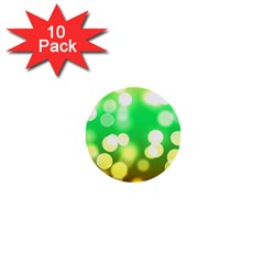 Soft Lights Bokeh 3 1  Mini Buttons (10 pack)