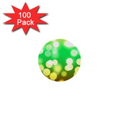 Soft Lights Bokeh 3 1  Mini Buttons (100 pack)