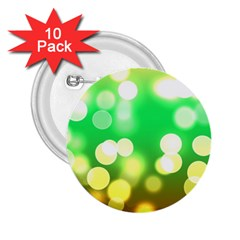 Soft Lights Bokeh 3 2.25  Buttons (10 pack)