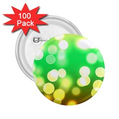 Soft Lights Bokeh 3 2.25  Buttons (100 pack)