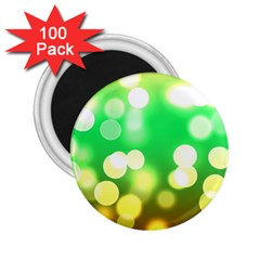 Soft Lights Bokeh 3 2.25  Magnets (100 pack)