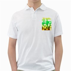 Soft Lights Bokeh 3 Golf Shirts