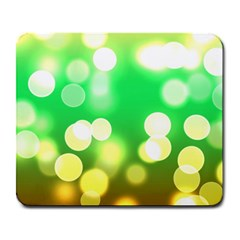 Soft Lights Bokeh 3 Large Mousepads