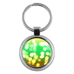 Soft Lights Bokeh 3 Key Chains (Round)